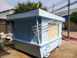 格爾木市仿古售貨車價格 德令哈市移動售貨亭訂購尺寸