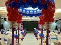 小丑魔术泡泡秀表演开业拱门气球百日宴儿童生日派对布置策划