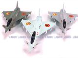 彩珀 欧洲EF-2000战斗机 回力 声光 合金 模型 儿童玩具