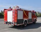 陕西西安东风多利卡3.5吨水罐罐消防车厂家直销