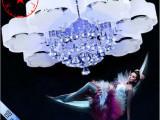 现代led水晶灯客厅卧室餐厅灯温馨吸顶灯具大厅吊灯简约时尚灯饰
