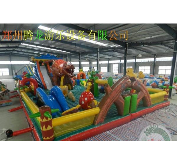 大型pvc充气玩具 充气蹦蹦床 充气滑梯厂家