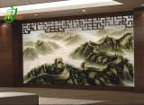供应山水画背景墙壁画电视背景墙 厂家价格优惠