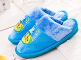 冬季新款爸爸去哪儿棉拖鞋 时尚儿童拖鞋保暖防滑带灯家居拖鞋