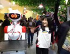 智能餐厅送餐端菜迎宾机器人服务员