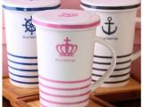 zakka 杯子 海军风 复古 陶瓷杯 马克杯 创意 水杯