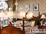 供应仿古欧式灯 客厅吸顶灯 仿云石欧式灯8001餐厅吊灯