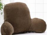 简约办公室抱枕 棉麻靠枕护腰枕 办公沙发