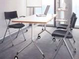 簡易折疊桌培訓會議辦公電腦桌五金鋼腳家用活動桌學習桌臺架