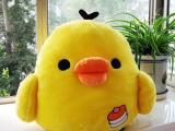 黄小鸡公仔 毛绒玩具轻松小鸡 小黄鸡 公司活动小礼物 支持代发