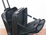 【厂家直销】供应真皮PU拉杆箱拉杆行李箱拉杆电脑箱航空箱登机箱