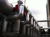 设备保温工程施工队 高温管道岩棉管保温安装