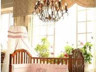 全新贝乐堡实木婴儿床转让