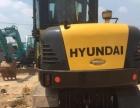 二手现代90w轮式挖掘机市场 全国包送