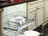 厨房拉篮 **不锈钢俊康三边多功能炉台篮