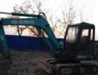 神钢 SK60-C 挖掘机          (一手车急转)