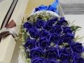 西安同城鲜花七夕情人节玫瑰百合花束礼盒速递预定