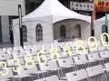 大量出租沙发 大圆桌 宴会椅 皮墩 塑料凳 铁马