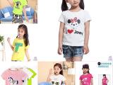 2015夏款韩版儿童短袖打底衫批发 特价清仓童装T恤库存 低价处