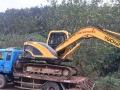 挖掘机玉柴重工玉柴挖掘机带拖车转让