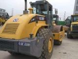 廣州二手壓路機市場,個人轉讓9成新徐工26噸壓路機,保質量