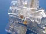 优质COB水晶头 RJ45水晶头 网络水晶头 网线水晶头 8P8