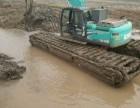 低价供应河北邯郸水陆两用挖掘机 湿地挖掘机出租