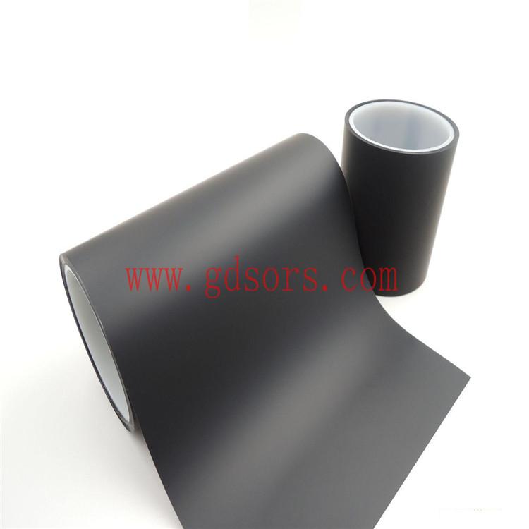 黑色聚酰亚胺胶带 PI胶带 黑色金手指胶带厂家