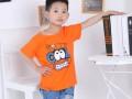 广东湛江有夜市摆摊5元童装批发大量男女童装图案刺绣T恤批发