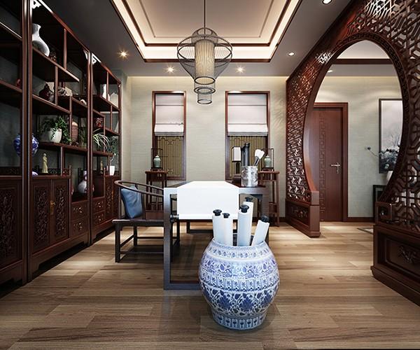 龙发装饰-乌合设计工作室 巴塞阳光 新中式风格