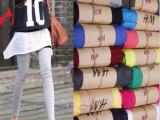 特价疯抢莫代尔提臀牛仔蓝韩版深灰隐形橙色紫色咖啡打底裤铅笔裤