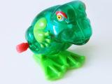 厂家直销 上链新奇跳跳青蛙(ABS料)上链玩具 益智儿童塑料玩具