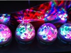 4.7元/台LED七彩旋转灯泡/LED舞台灯、LED水晶魔球灯