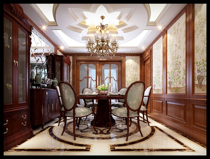 龙发装饰-乌合设计工作室 永和坊 美式风格