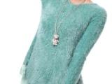 打底衫 圆领针织毛衣外套 加厚加绒品牌正