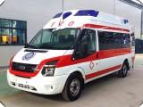 烟台救护车医疗护送,长途跨省救护车转送,重症监护急救车租赁