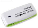 KETRON科强**带无线充电宝 五合一移动电源 数码产品礼品