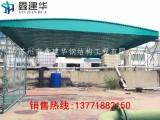 上海鑫建华简易停车篷移动式车棚伸缩式遮阳篷帐篷厂