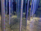 聊城镜子迷宫设备出租互动挑战娱乐镜子迷宫租赁