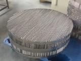 不锈钢规整填料 不锈钢孔板波纹填料 聚结板填料哪有卖