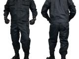 批发网格防刮布特JING特勤训练作训作战服黑色藏青工作服CS军训
