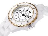 特价正品陶瓷女表 白色 高档品牌女士时装表 防水石英表 情侣手表
