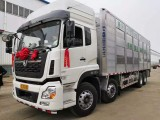 江苏东风天龙9.6米畜禽运输车 空气净化畜禽车销售