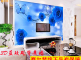 厂家 供应  3d玫瑰花朵电视背景墙 3