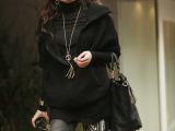 秋冬新款韩国SZ女装时尚毛衣外套修身显瘦毛衣 女篇幅袖毛衣