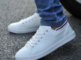 白色休闲男鞋时尚百搭潮流男式透气板鞋韩版流行耐磨低帮鞋批发