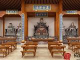 苏州古建筑效果图制作 寺庙 祠堂 庙宇 园林3d效果图