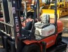 出售二手设备,二手杭州柴油叉车3吨/内燃式柴油叉车