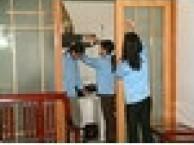 深圳写字楼楼盘开荒清洁外墙玻璃清洗