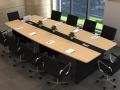 重庆办公家具会议桌长桌简约现代洽谈桌 会议室桌椅长方形办公桌